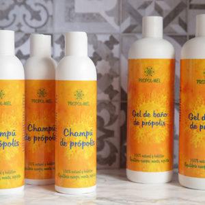 Higiene para varias semanas: 2 Gel y 3 Champús