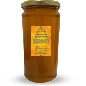 Miel artesana de flor de almendro (Tarragona – Montañas de Prades)